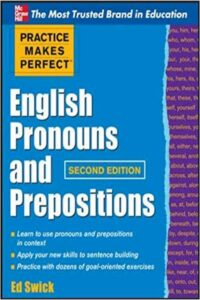 English Pronouns and Prepositions PDF