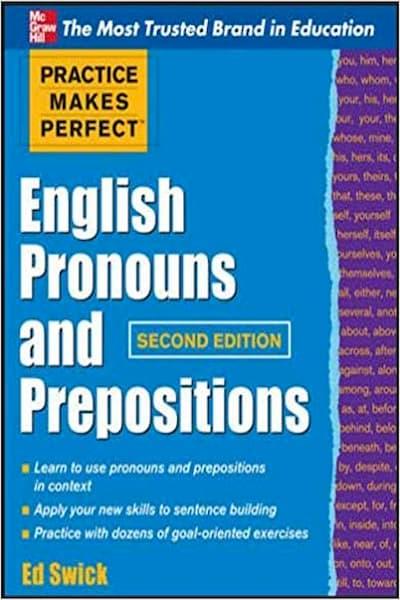 English Pronouns and Prepositions (PDF)
