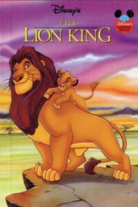 The Lion King Adventures story book