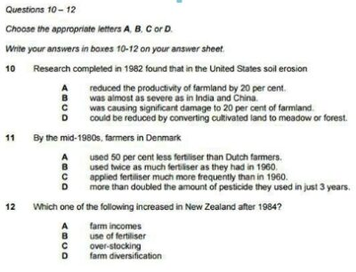 IELTS 14 Reading Questions Types-3