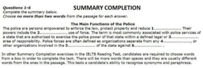 IELTS 14 Reading Questions Types-4
