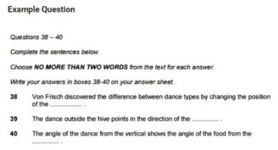 IELTS 14 Reading Questions Types-7