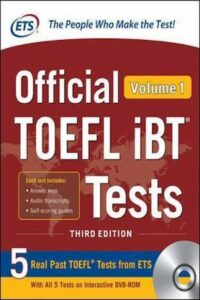 Official TOEFL iBT Tests Volume 1 Third Edition