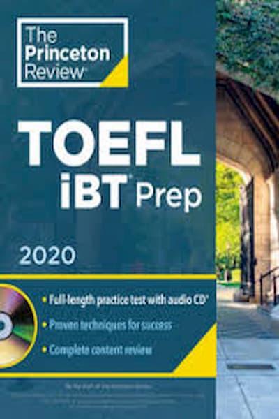 Princeton Review TOEFL iBT Prep 2020