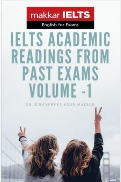 Makkar IELTS Academic Exam Reading (Volume 1)
