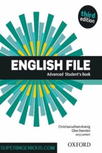 A New Edition Of The Best-Selling English File Advanced
