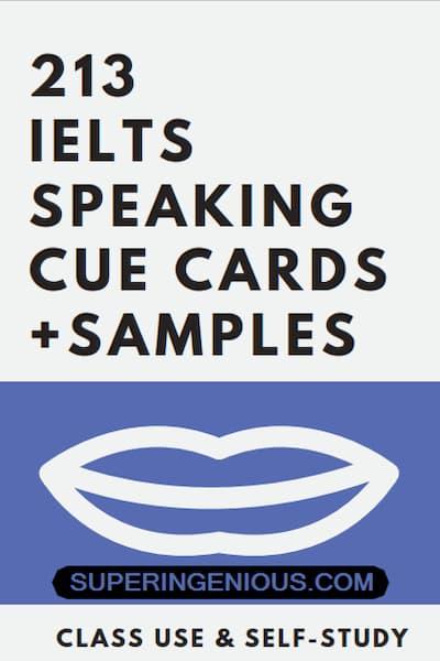 IELTS Speaking Cue Cards 213