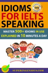 IELTS Speaking Idioms
