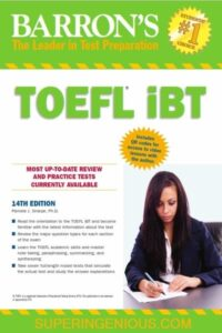 Barrons TOEFL iBT 14th Edition