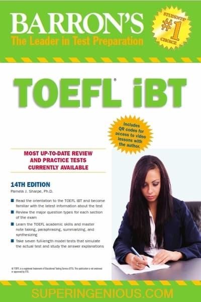 Barrons TOEFL iBT 14th Edition