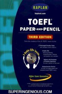 Kaplan TOEFL Paper and Pencil