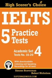 IELTS 5 Practice Tests Academic Set 4