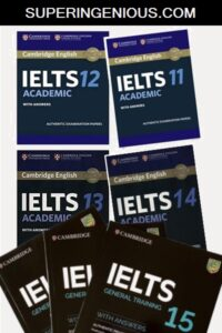 All Cambridge IELTS Books (Books+ Audio)