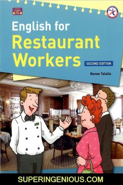 English For Restaurant Workers (PDF+Audio)