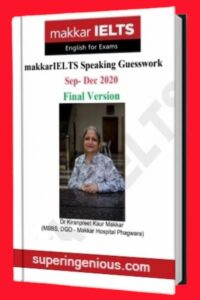 Makkar IELTS Speaking Guesswork 2020 Final Version
