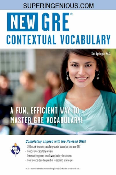 New GRE Contextual Vocabulary