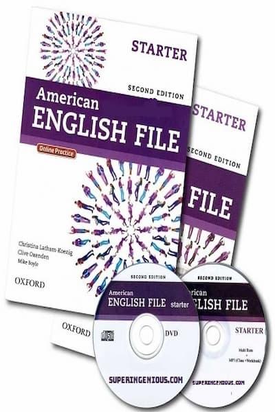 Download American English File Starter full