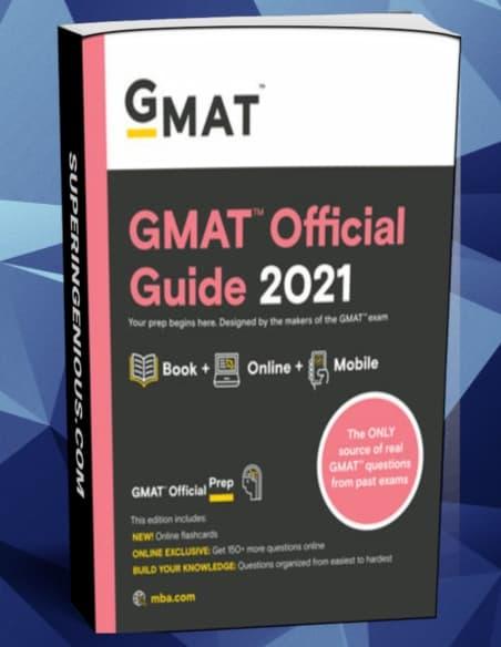 GMAT Official Guide 2021( Book + Online Question Bank )