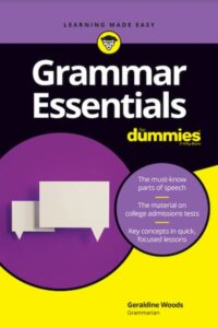 Grammar Essentials For Dummies PDF