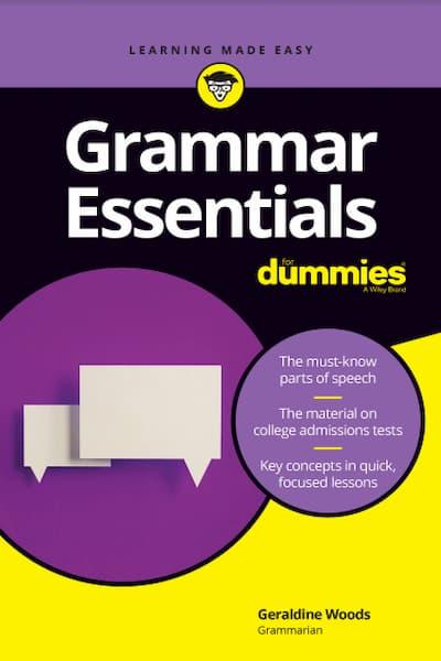 Grammar Essentials For Dummies PDF