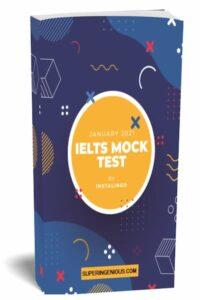 IELTS Mock Test 2021