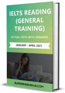 IELTS Reading General Training 2021