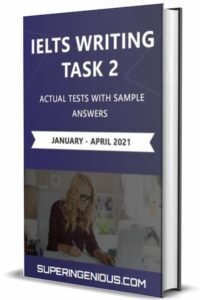 IELTS Writing Actual Tests Task 2 (2021)