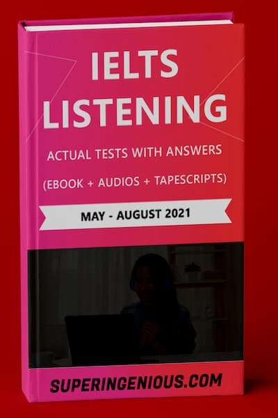 IELTS Listening Actual Tests and Answers 2021