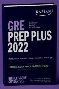 Kaplan's GRE Prep Plus 2022